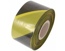 Barrier Tape - Black/Yellow