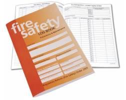 FIRE SAFETY LOG BOOK A4