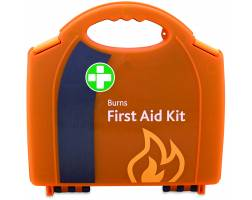 BURNS FIRST AID KIT IN SMALL INTEGRAL BOX
