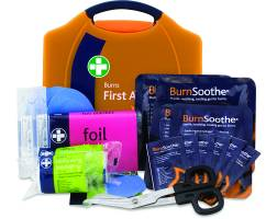BURNS FIRST AID KIT IN COMPACT AURA